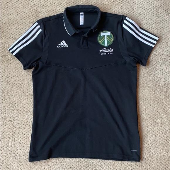 adidas Other - Portland Timbers Polo Shirt